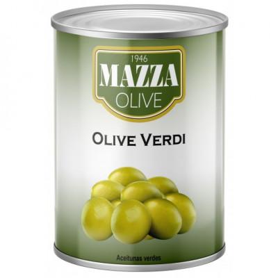 Masline verzi intregi, Mazza, 2,6kg