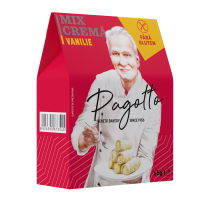 Crema Vanilie pentru Prajituri fara Gluten, Pagotto, 90g