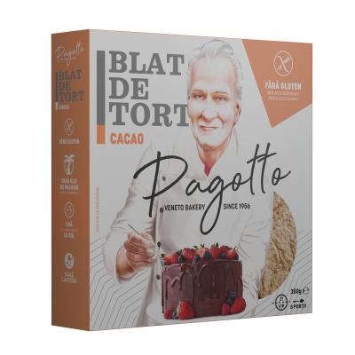 Blat Tort Cacao fara Gluten, Pagotto, 350g